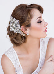 Celine Bridal Headpiece - Perle Jewellery & Makeup  - 2