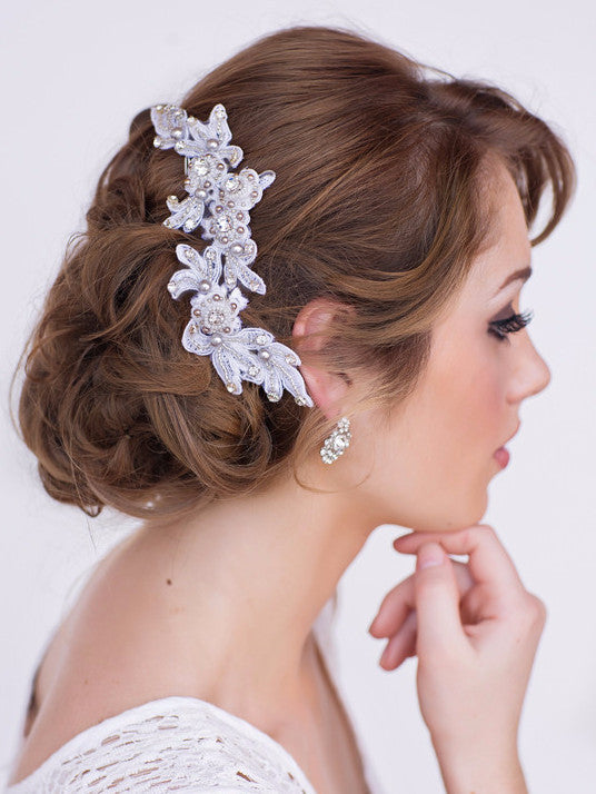 Chelsea Bridal Headpiece - Perle Jewellery & Makeup  - 1