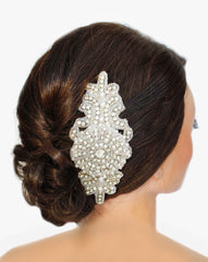 Ave Maria Bridal Headpiece - Perle Jewellery & Makeup  - 5