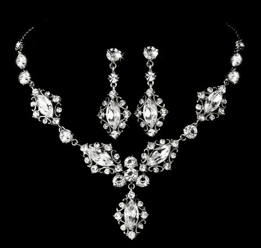 Boutique Bridal Necklace Set
