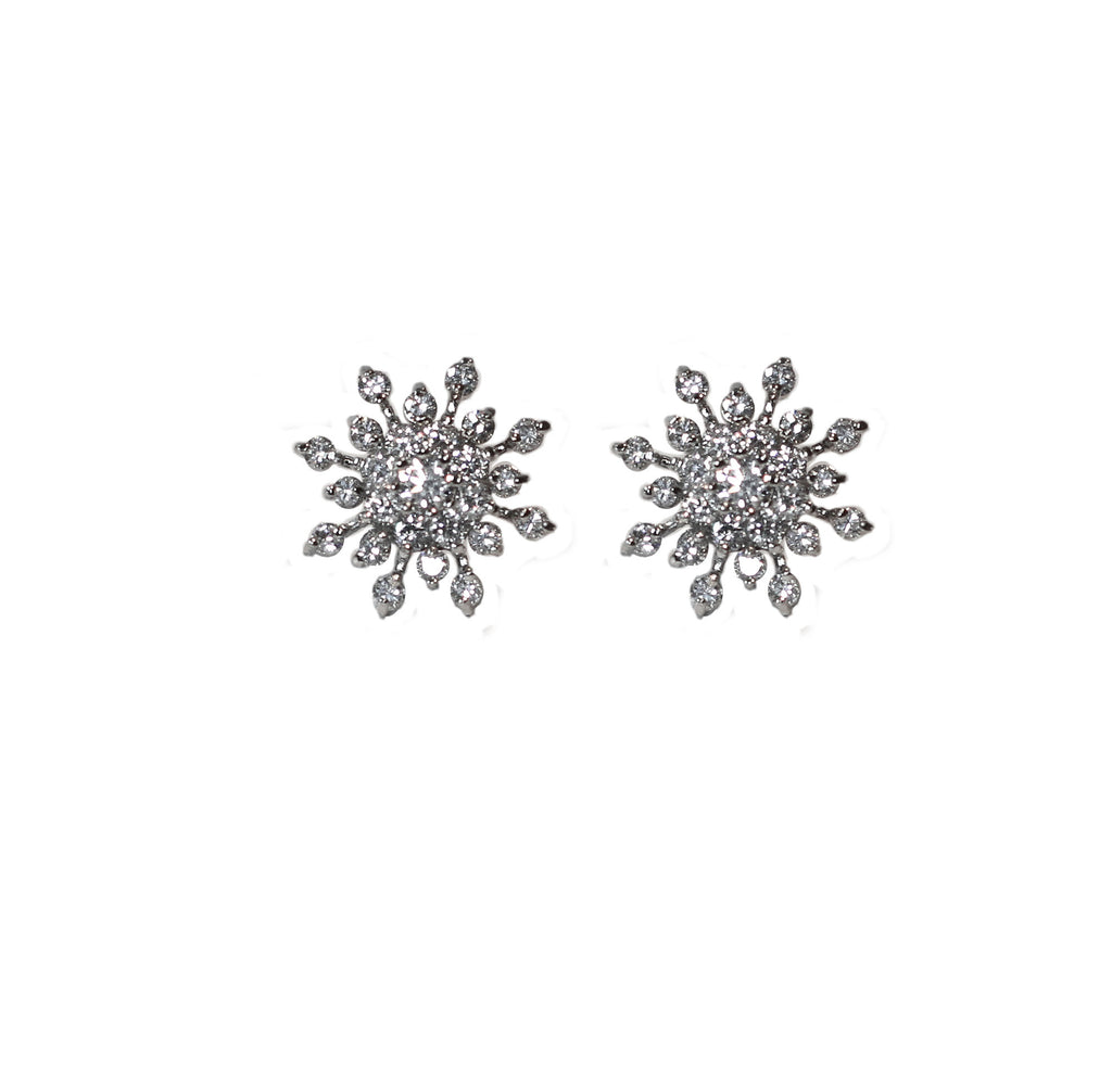 Daisy Bridal Earrings - Perle Jewellery & Makeup  - 1
