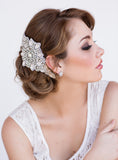 Daisy Bridal Earrings - Perle Jewellery & Makeup  - 3