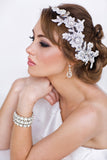 Emily Bridal Earrings - Perle Jewellery & Makeup  - 3