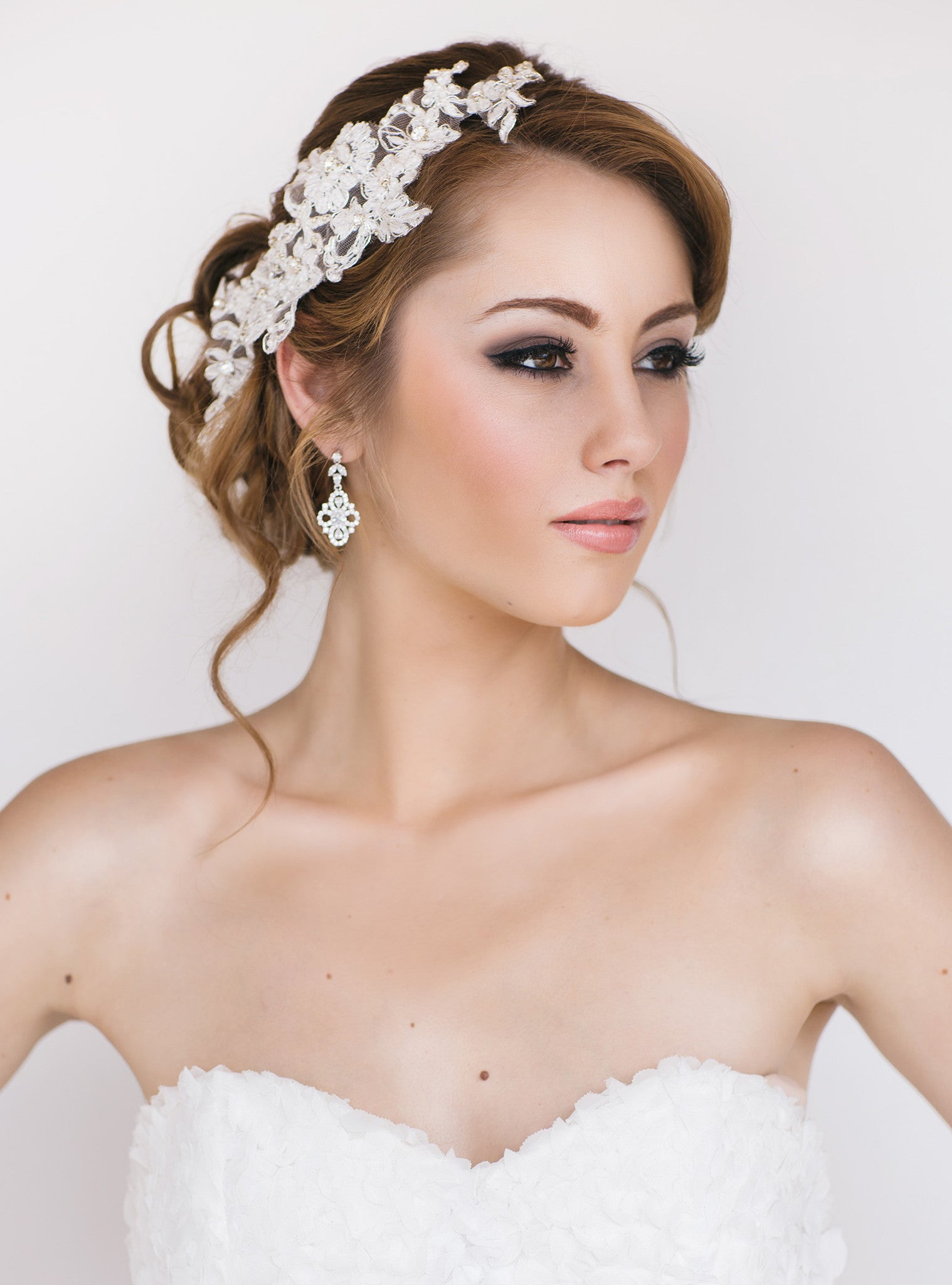 Faith Bridal Headpiece - Perle Jewellery & Makeup  - 1