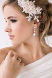 Georgina Bridal Earrings - Perle Jewellery & Makeup  - 2