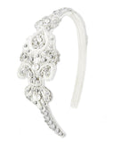 Lace & Crystal Bridal Headband - Perle Jewellery & Makeup  - 1