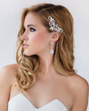 Hazel Bridal Earrings - Perle Jewellery & Makeup  - 2
