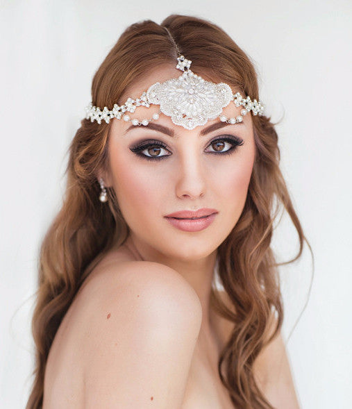 Marella Bridal Headpiece - Perle Jewellery & Makeup  - 1