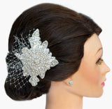 Alexis Bridal Headpiece - Perle Jewellery & Makeup  - 4