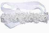 Tia Lace Bridal Headband - Perle Jewellery & Makeup  - 5