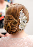 Elise Bridal Haircomb - Perle Jewellery & Makeup  - 3