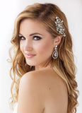 Jessica Bridal Earrings - Perle Jewellery & Makeup  - 3