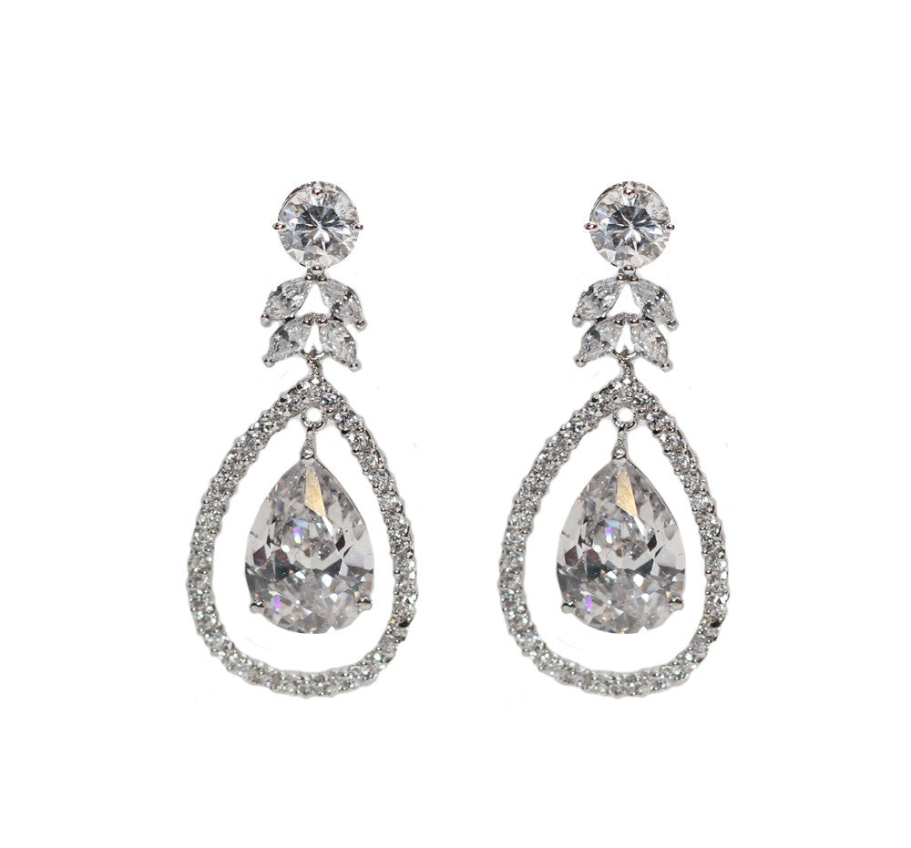 Jessica Bridal Earrings