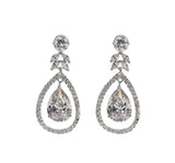 Jessica Bridal Earrings - Perle Jewellery & Makeup  - 1