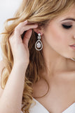Jessica Bridal Earrings - Perle Jewellery & Makeup  - 2