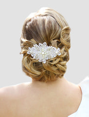 Annabelle Bridal Headpiece - Perle Jewellery & Makeup  - 1