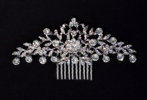 Monica Crystal Bridal Comb