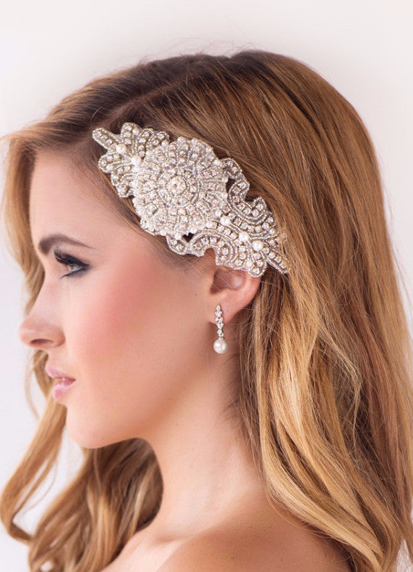 Ave Maria Bridal Headpiece - Perle Jewellery & Makeup  - 1