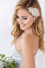 Ave Maria Bridal Headpiece - Perle Jewellery & Makeup  - 2