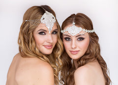 Arianna Bridal Headpiece - Perle Jewellery & Makeup  - 3