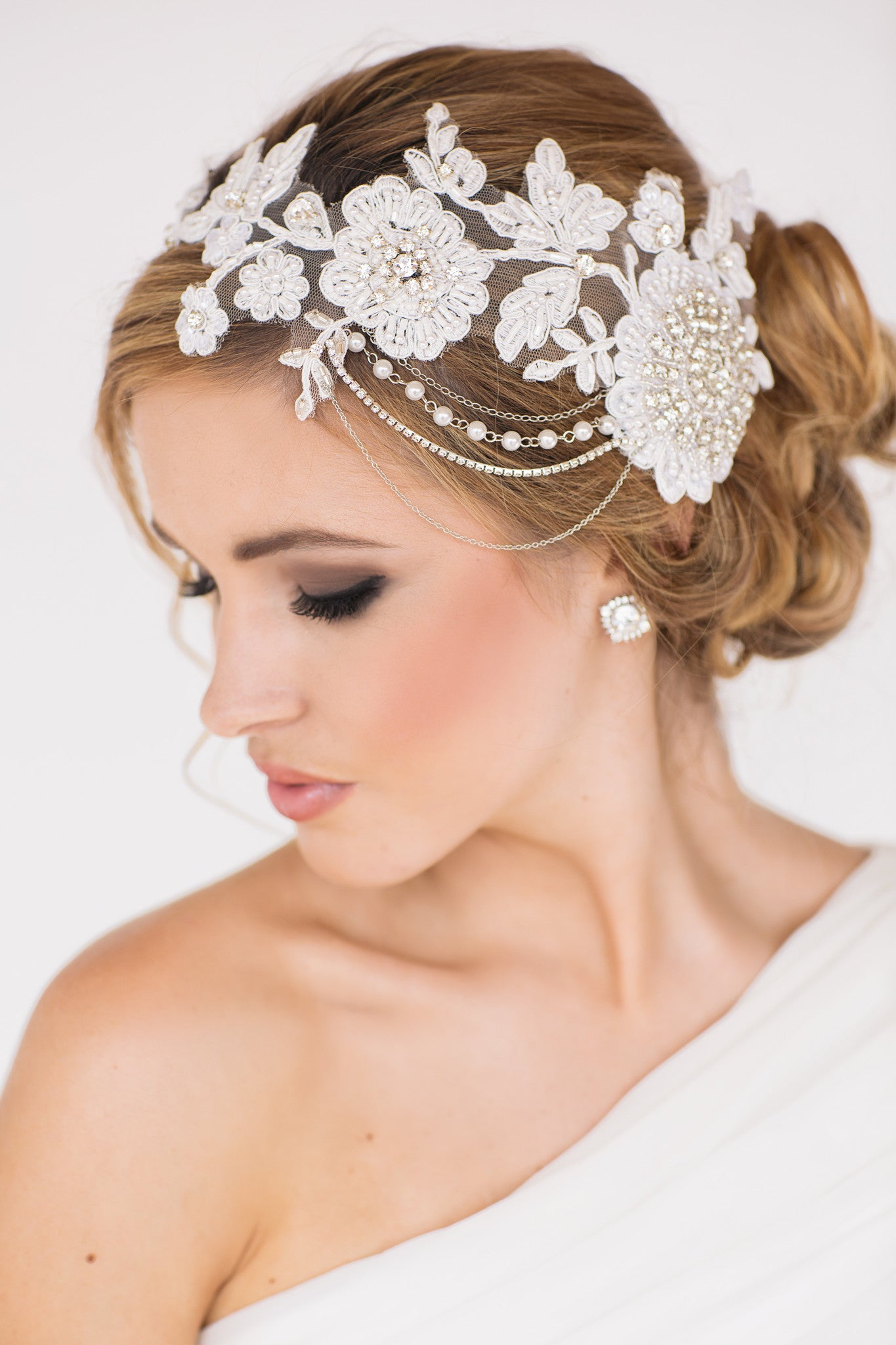 Gabrielle Bridal Headpiece - Perle Jewellery & Makeup  - 1