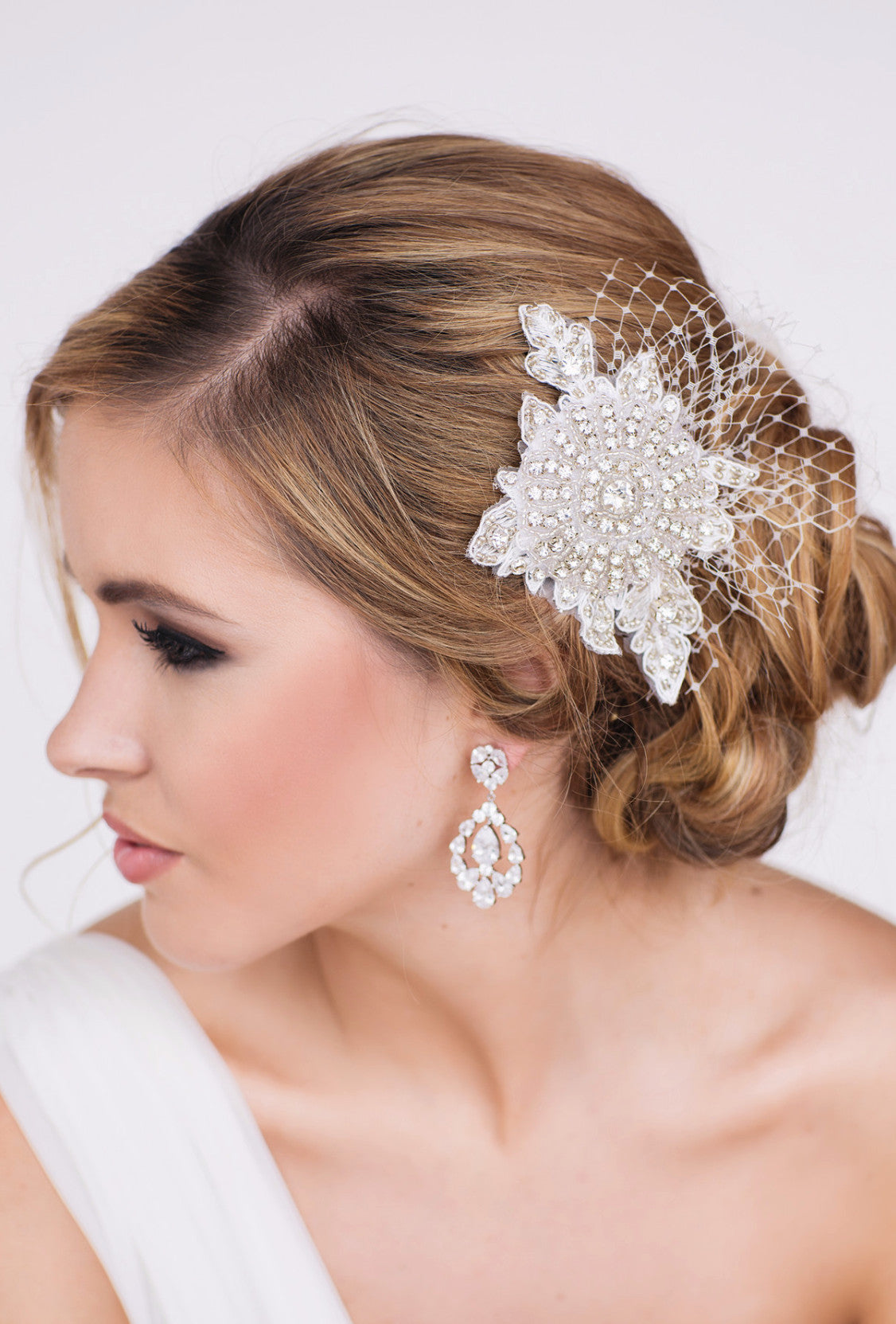 Alexis Bridal Headpiece - Perle Jewellery & Makeup  - 1