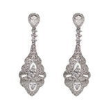 Nikki Bridal Earrings - Perle Jewellery & Makeup  - 1