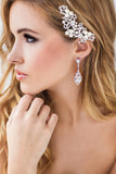 Nikki Bridal Earrings - Perle Jewellery & Makeup  - 2