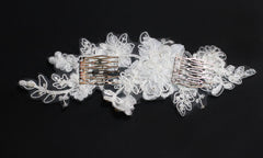Paige Bridal Headpiece - Perle Jewellery & Makeup  - 3