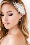 Rachel Bridal Earrings - Perle Jewellery & Makeup  - 2