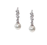 Rachel Bridal Earrings - Perle Jewellery & Makeup  - 1
