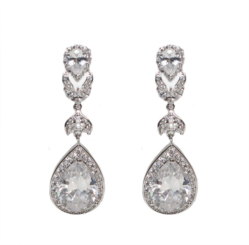 Tahni Bridal Earrings