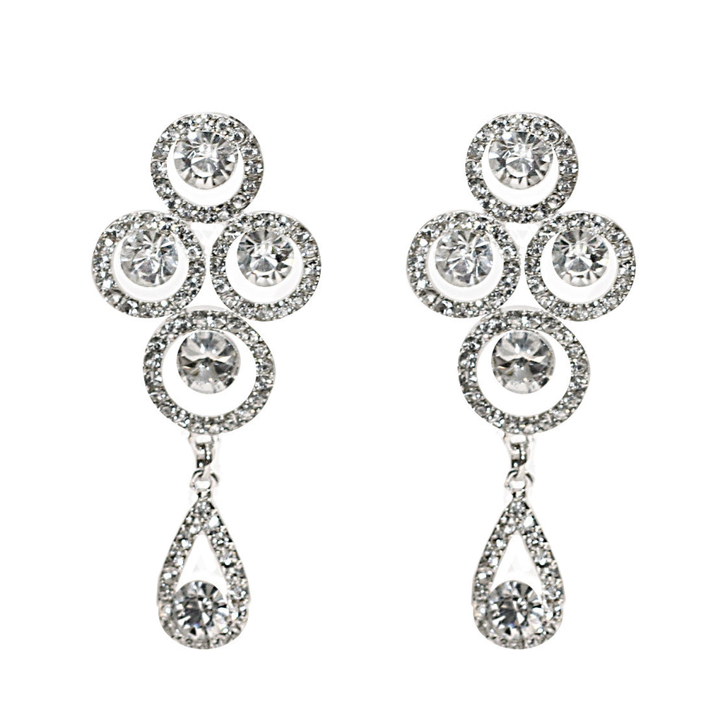 Trinity Bridal Earrings