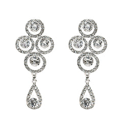 Trinity Bridal Earrings - Perle Jewellery & Makeup  - 1