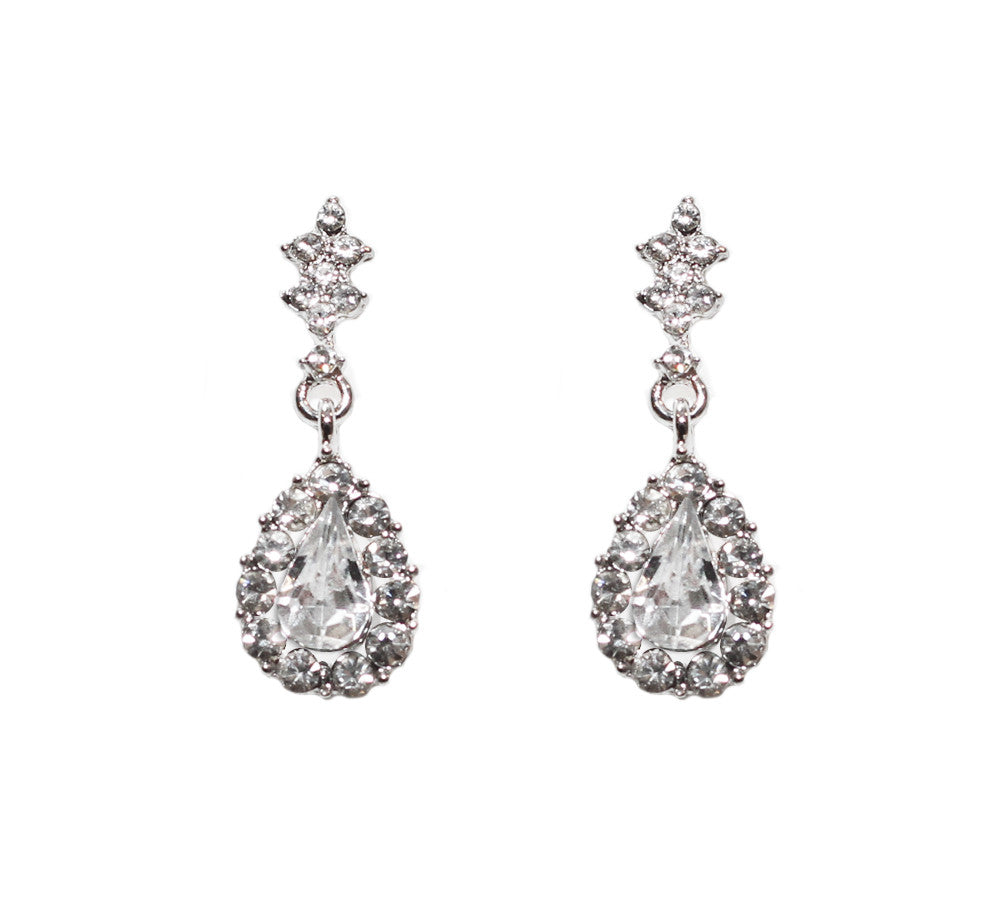 Vanessa Bridal Earrings - Perle Jewellery & Makeup  - 1