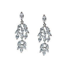 Willow Bridal Earrings - Perle Jewellery & Makeup  - 1