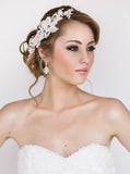 Zoe Bridal Earrings - Perle Jewellery & Makeup  - 3