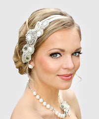 Ariel Bridal Headband - Perle Jewellery & Makeup  - 1