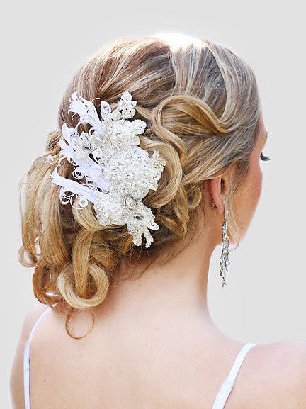 Madeline Lace Bridal Headpiece