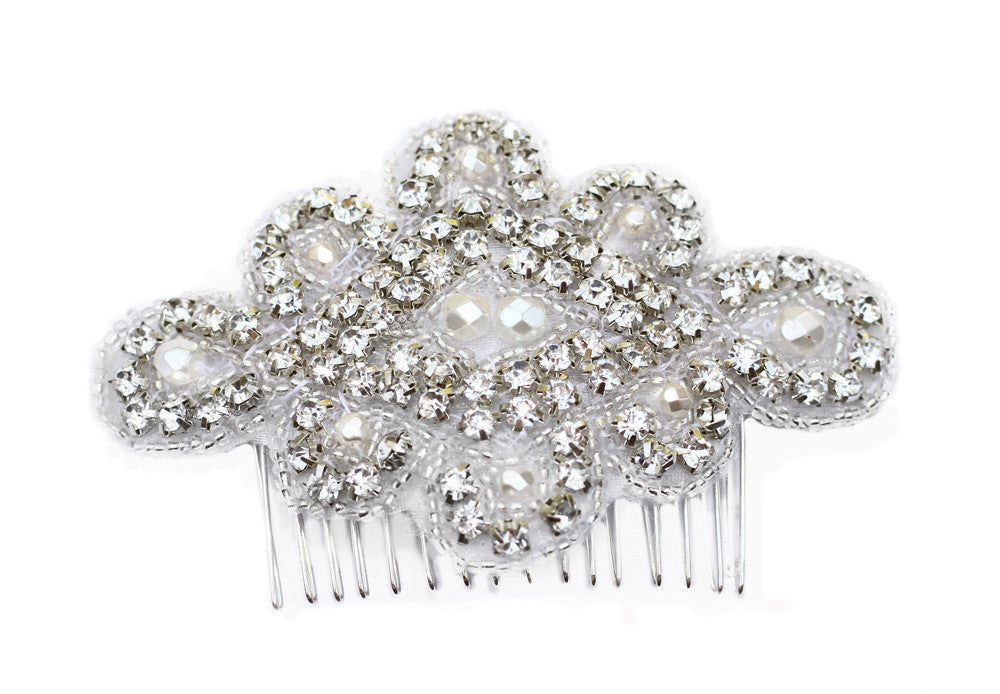 Megan Bridal Headpiece - Perle Jewellery & Makeup  - 1