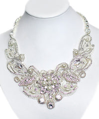 Florence Lace Bridal Necklace - Perle Jewellery & Makeup  - 2