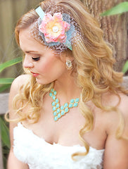 Mint & Rose Headband - Perle Jewellery & Makeup  - 1