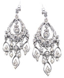 Large Cascading Teardrop Earrings - Perle Jewellery & Makeup