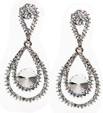 Sparkling Loop Earrings- Gold or Silver - Perle Jewellery & Makeup  - 2