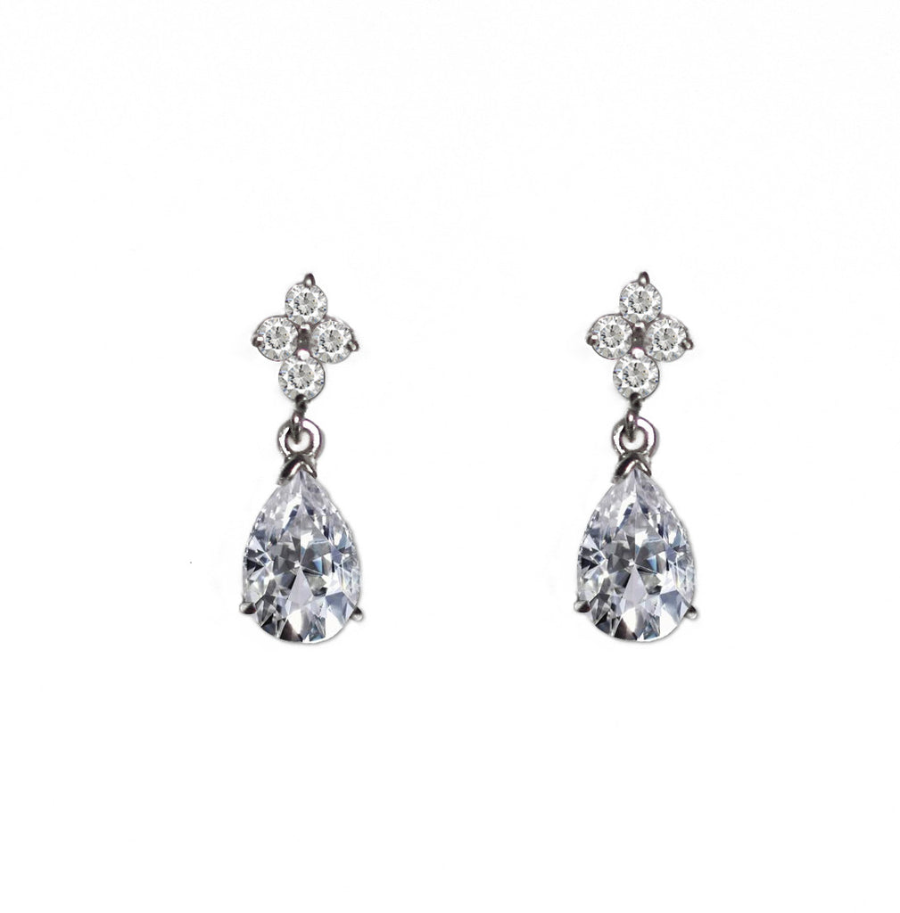 Lisa Bridal Stud Earrings