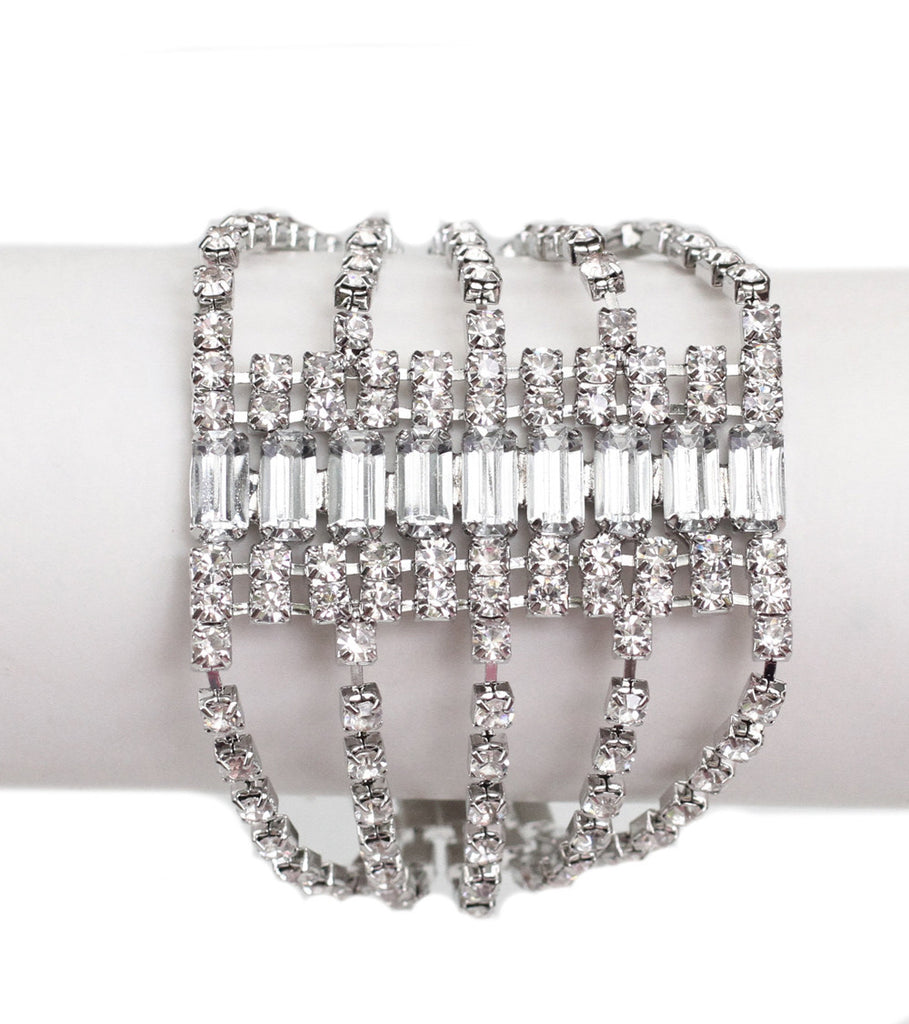 Art Deco Diamonte Bracelet
