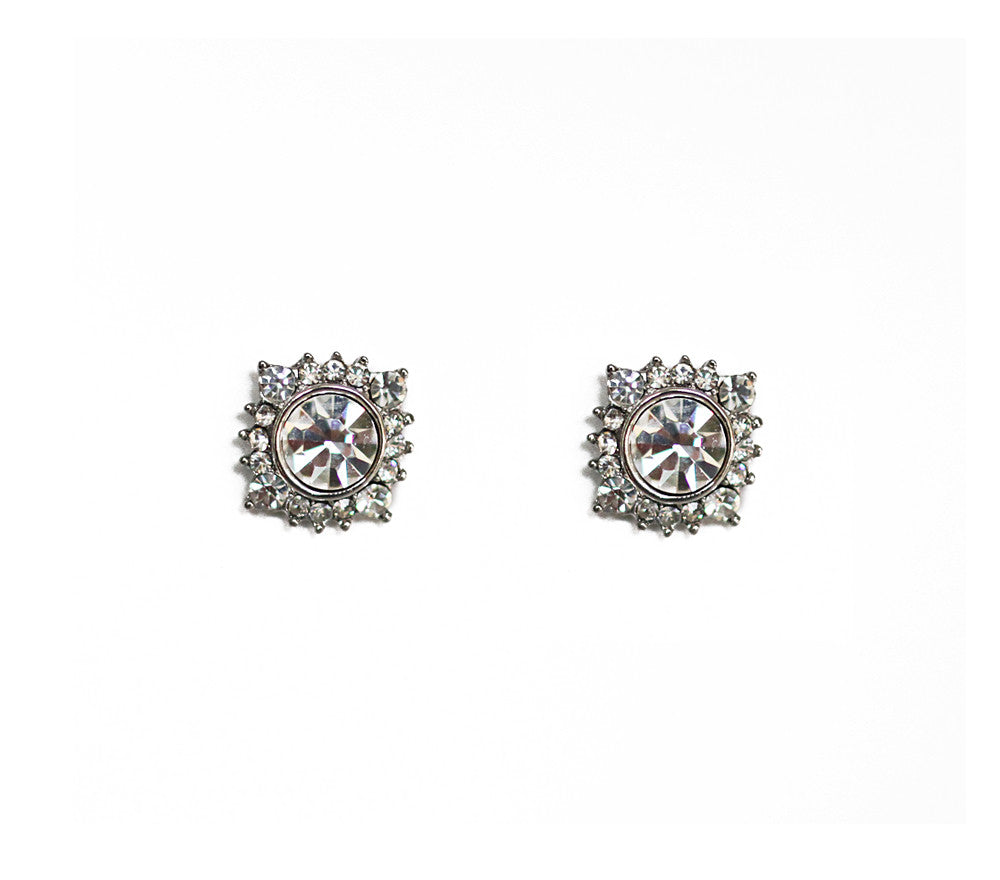 Sylvie Bridal Stud Earrings