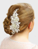 Elise Bridal Haircomb - Perle Jewellery & Makeup  - 1