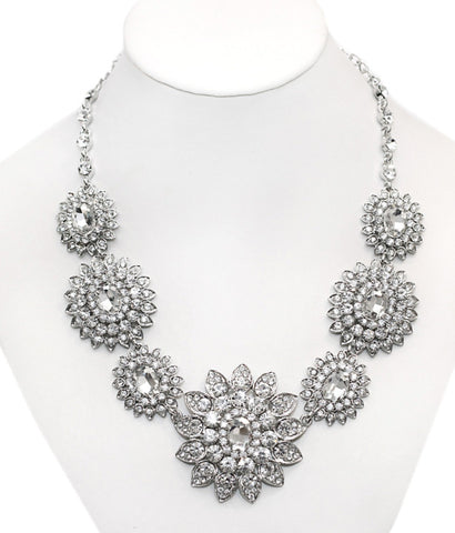 Georgette Bridal Necklace