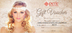 Hair & Makeup Voucher - Perle Jewellery & Makeup  - 1